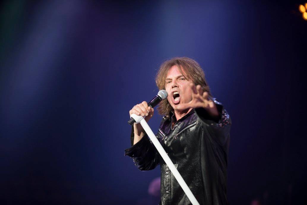 Joey Tempest : Photos et vidéos de Munich le 2 avril 2016