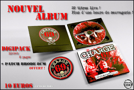Charge 69 - Un premier live sauvage chez Combat Rock records :-)