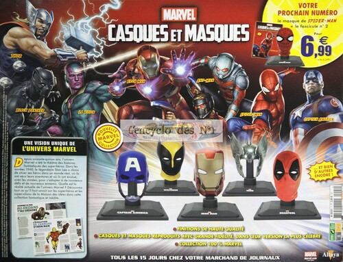 N° 1 Casques et masques Marvel - Test