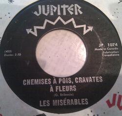 Misérables : Chemises à pois cravates à fleurs (1967)