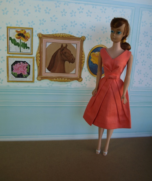 Barbie vintage : Belle Dress
