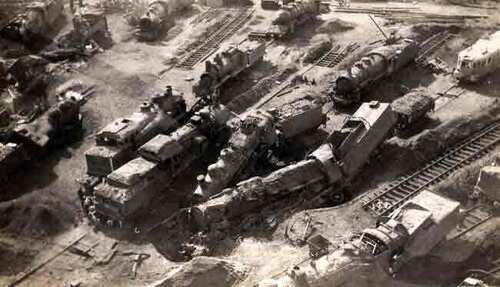 Bombardements de Migennes / La bataille du rail