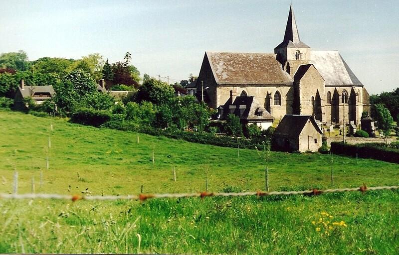 Eglise de Ménerval (Seine Maritime)