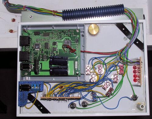 L'ensemble du câblage du Tableau de Commande