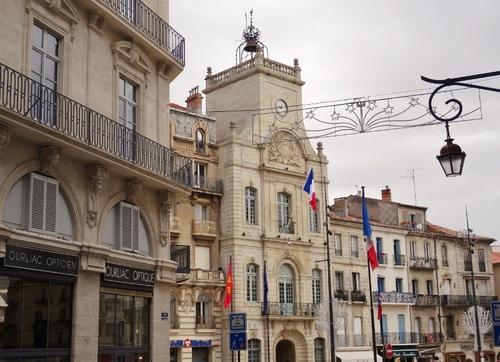 Béziers: autour de la cathédrale et de la mairie (photos)