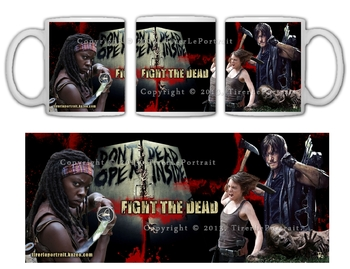 TWD Fight the Dead Mug TLP
