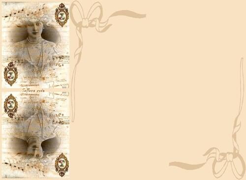 Papier à lettres**perles de culture**