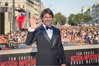 Mission: Impossible - Rogue Nation : Photo promotionnelle Tom Cruise