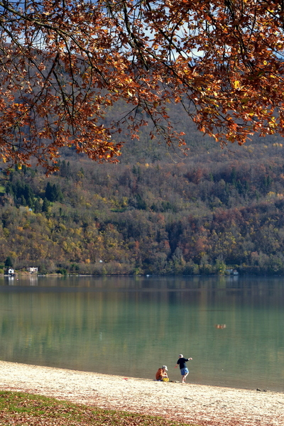 2015.11.08 Lac d'Aiguebelette (Savoie)