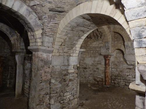 Crypte de Vilhosc