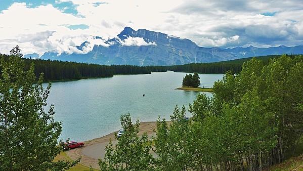 Jour 16 Banff Lac Two Jack 1
