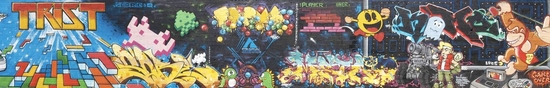 2010toulousegraffitigam tetris pacman donkey kong part lq