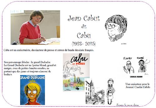 Cabu et le dessin humoristique