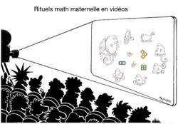 Vidéos de rituels  mathématiques en maternelle