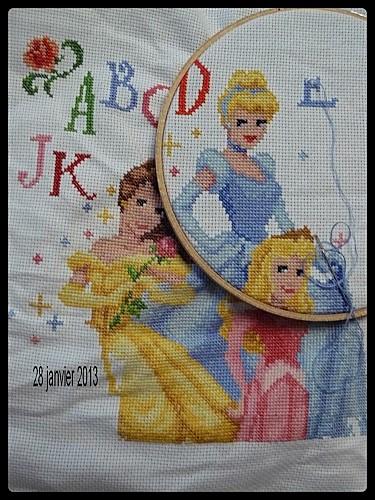 abécédaire princesses 3