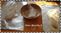 Filets de Cabillaud Panés