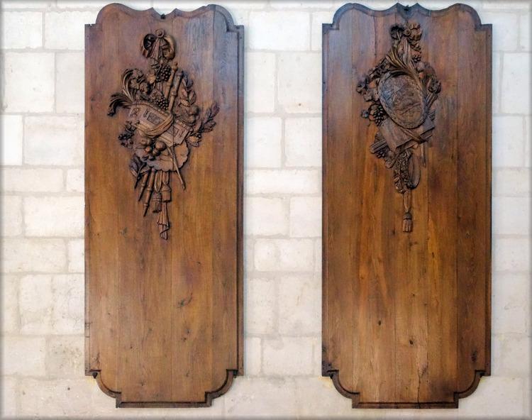 N-D de l'Assomption - Sculptures sur bois