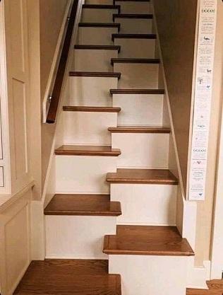 Les escaliers à pas décalés ...