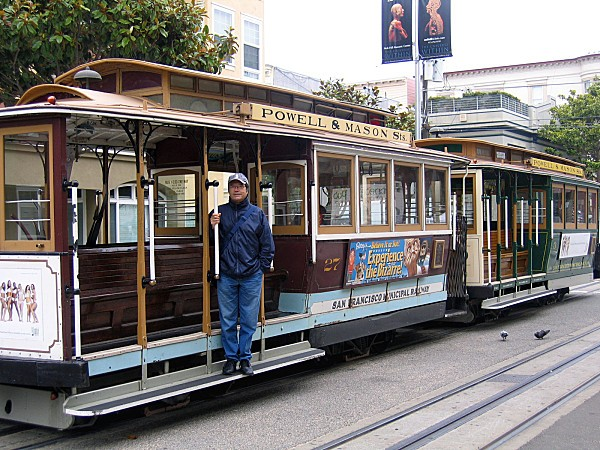 San Francisco cable car Norbert