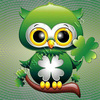 Tube Hibou cute St Patrick