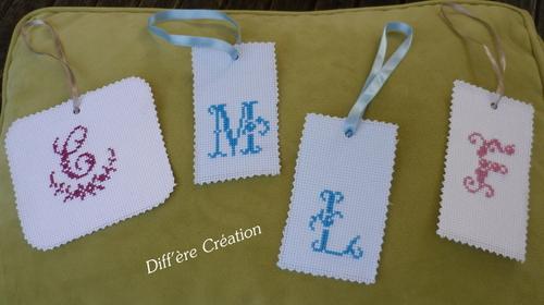 Personnalisez vos cadeaux avec un monogramme