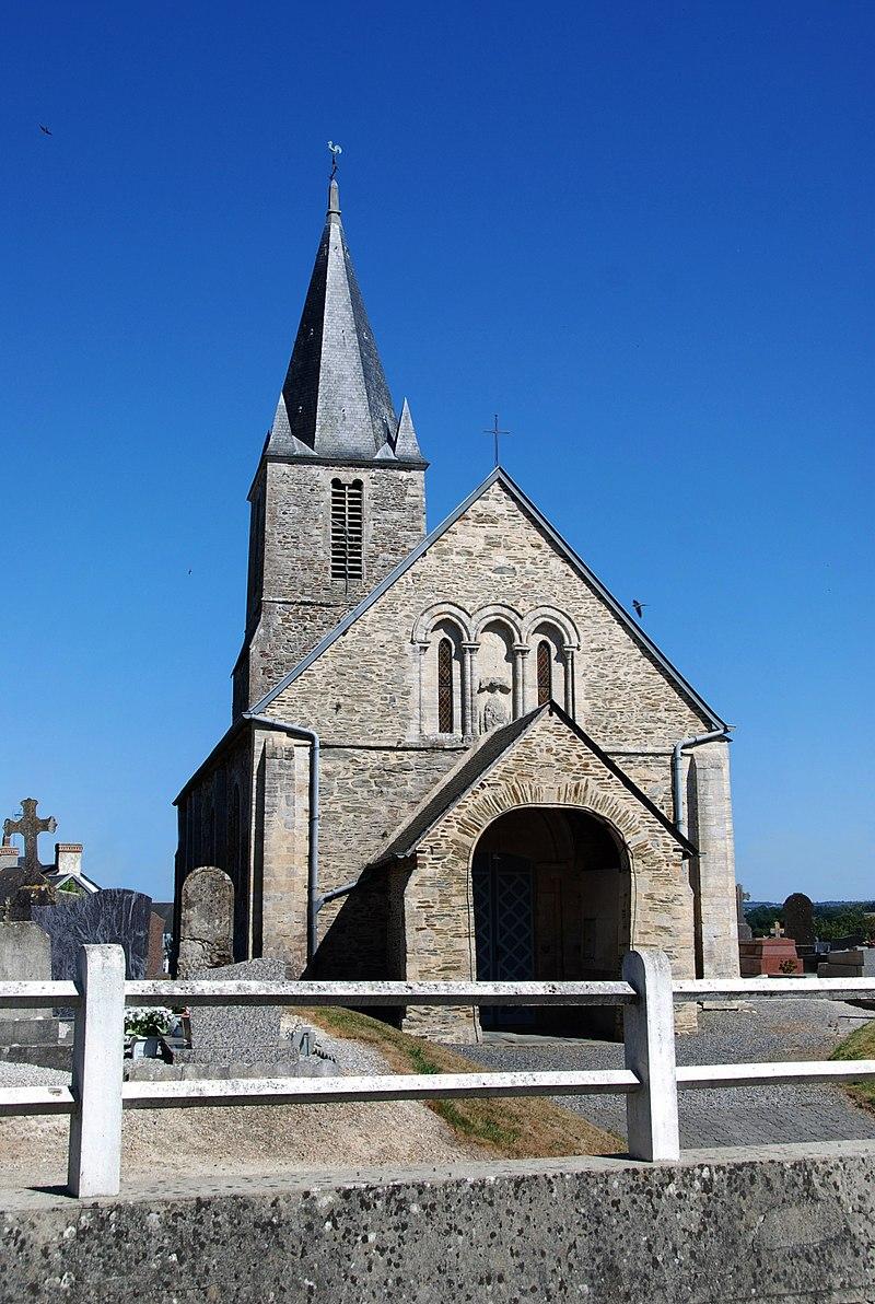 Église Notre-Dame-de-l'Assomption de Litteau -Vue ouest.jpg