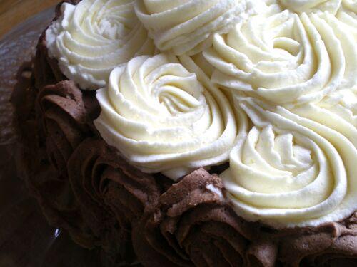 Layer Rose Cake
