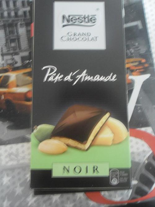 Tablettes Nestle Chocolat !