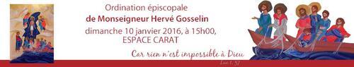 Mgr Hervé GOSSELIN invite les jeunes à son ordination épiscopale