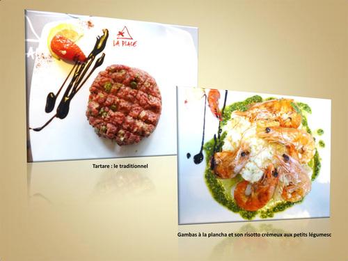 Restaurant La Place à Montfort l'Amaury