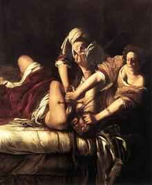 Arthémise Gentileschi - Judith et Holopherne