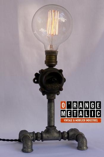 Lampe Design O'Range Metalic Mobilier Industriel