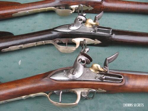 Le fusil de François Coudrin retrouvé !