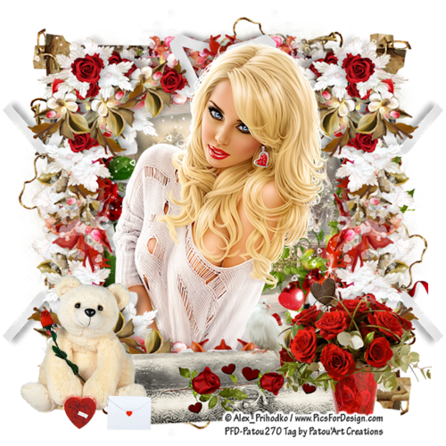 "*** CT EDELWEISS DESIGN *** PTU Kit ""My Sweet Valentine"""