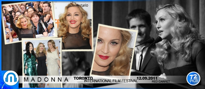 Madonna @ Toronto - WE North-american Premiere, 12.09.2011 - Red Carpet
