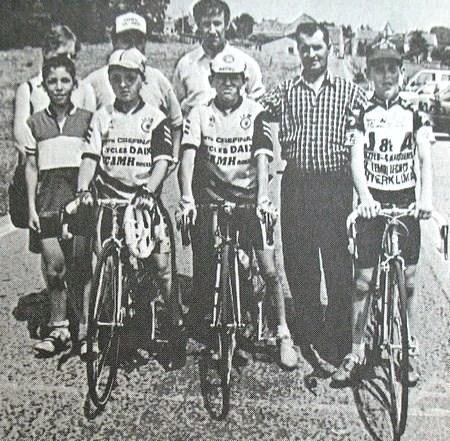 """Bioul - Course cycliste pour """"aspirants"""" en 1994."""