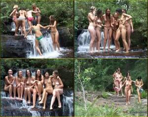 Waterfall Girls.