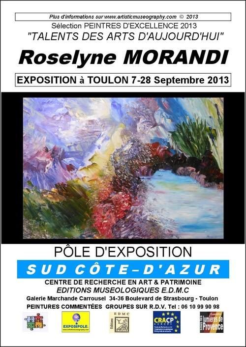 EXPOSITION DE R. MORANDI