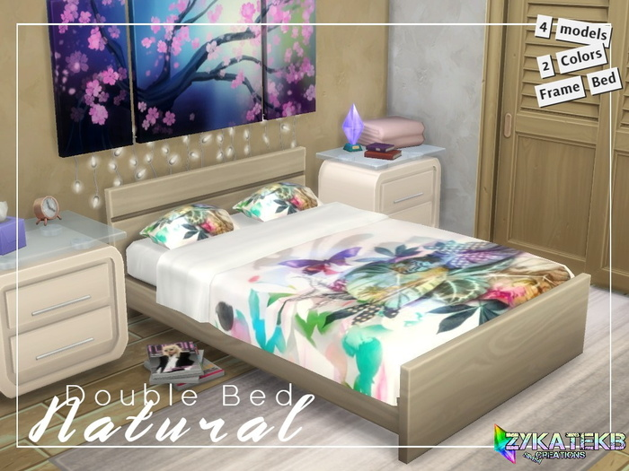 Double Bed Natural