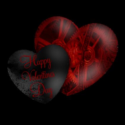 Tubes St Valentin steampunk
