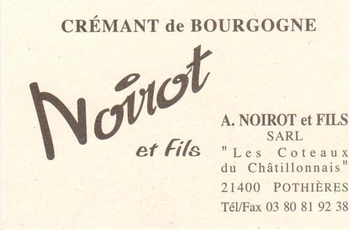 Le domaine Noirot à Pothières