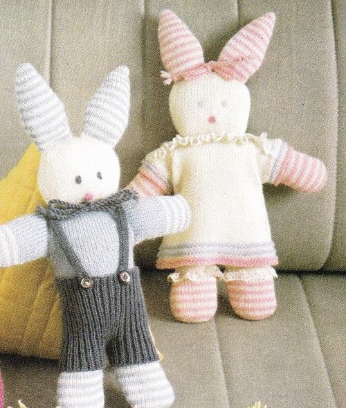 Doudous: des lapins
