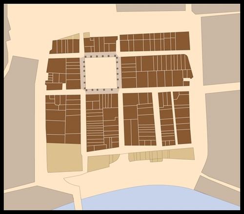 Plan bastide Briatexte