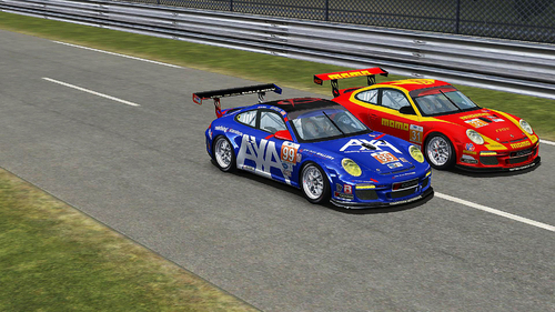 Team Competition Motorsport Porsche 997Cup ALMS13