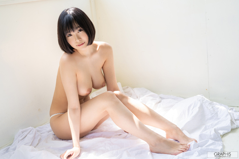 "WEB Gravure : ( [Graphis] - | Graphis Gals - Serie.1 | Asuna Kawai/河合あすな : ""Natural beauty melons!"" )"