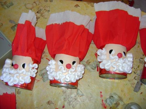 boite Père Noël ou variante Saint Nicolas