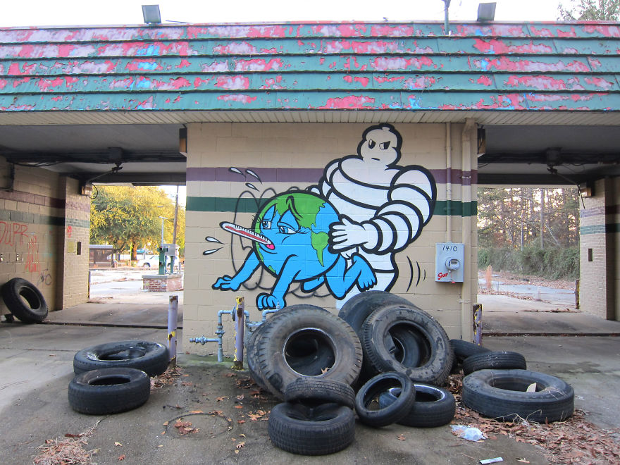 Street-Art : Vérités dérangeantes