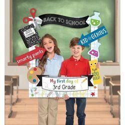 """Un """"photobooth"""" annuel en lien avec le cahier de vie de la classe"""