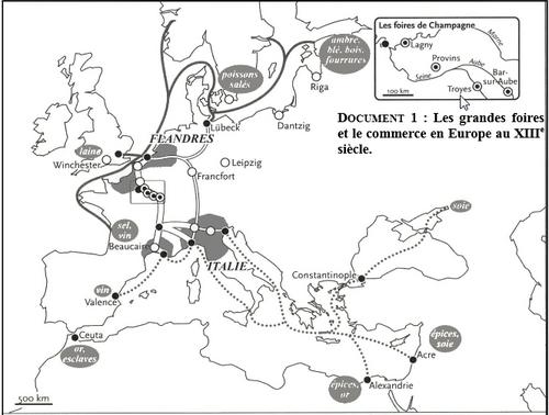 La ville au Moyen-Âge