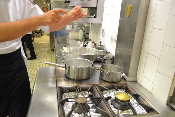 La Côte d'Or Bernard Loiseau, côté cuisine & restaurant